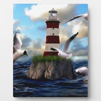 Plaque Photo Voler d'oiseaux de phare