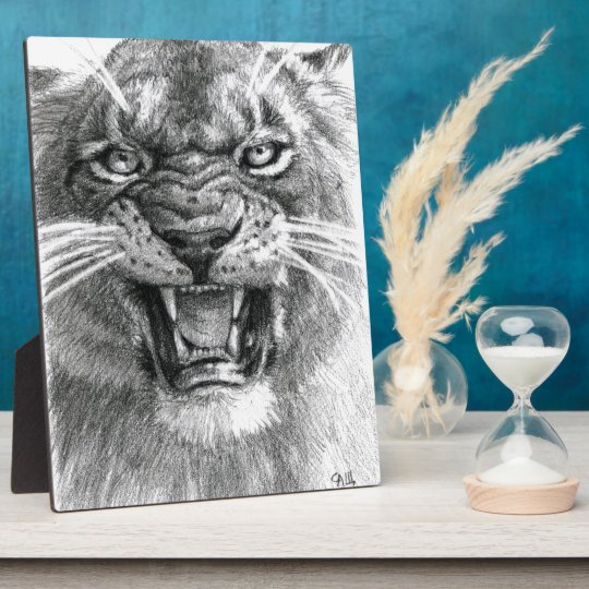 Plaque Photo Wicked Lioness design  by schukina 748d