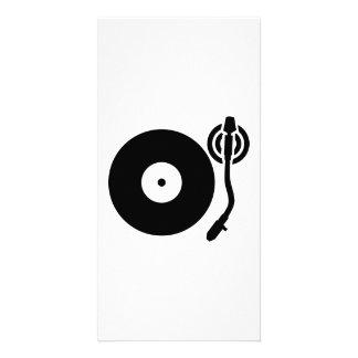 Plaque tournante DJ Modèle Pour Photocarte