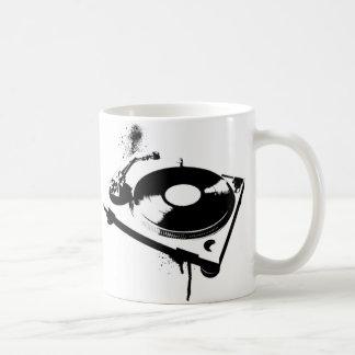 Plaque tournante du DJ Mug