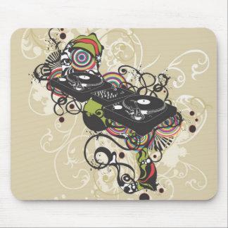 Plaque tournante Mousepad du DJ Tapis De Souris