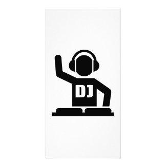 Plaques tournantes du DJ Photocartes Personnalisées