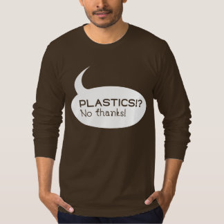 Plastiques ! ? /Douille habillement américain des T-shirt