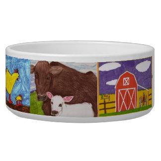 Plat de alimentation de chien bols pour chien