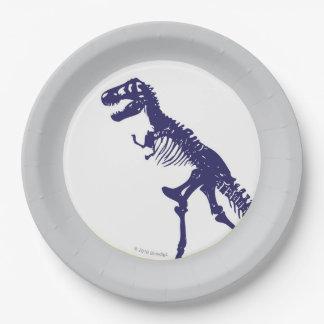 Plat de dinosaure de T Rex Assiettes En Papier