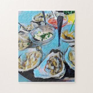 Plat d'huîtres puzzle