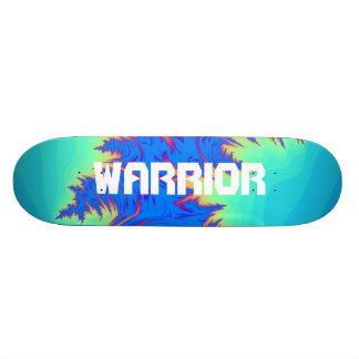 Plate-forme abstraite de planche à roulettes de skateboard customisable