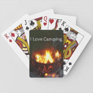 Plate-forme de camping des cartes de jeu jeu de cartes