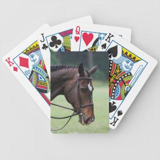 Plate-forme de cheval des cartes Arabe douce Jeux De Cartes