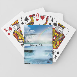Plate-forme de chutes du Niagara des cartes de jeu Jeu De Cartes