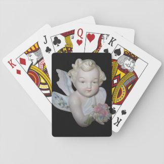 Plate-forme douce d'ange des cartes de jeu jeu de cartes