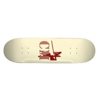 Plate-forme effrontée de planche à roulettes de lo skateboards personnalisables