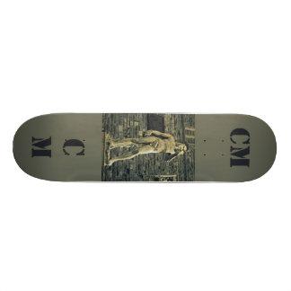 Plate-forme effrontée de planche à roulettes de ma plateau de skate