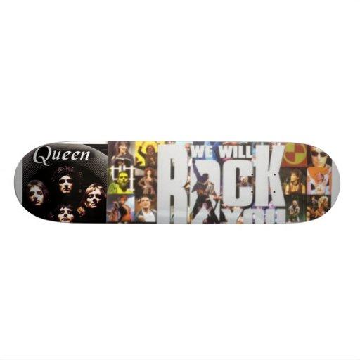 Plate-forme fausse de reine skateboard