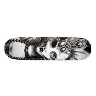 Plate-forme gothique de planche à roulettes d'art plateau de skate
