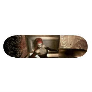 Plate-forme gothique de planche à roulettes de vam skateboards cutomisables