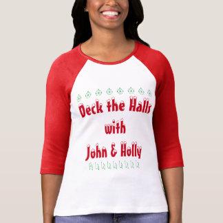 Plate-forme les halls avec le T-shirt de John et