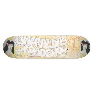 Plate-forme officielle de planche à roulettes du skateboard old school 18,1 cm