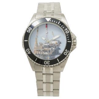 Plate-forme pétrolière montres bracelet