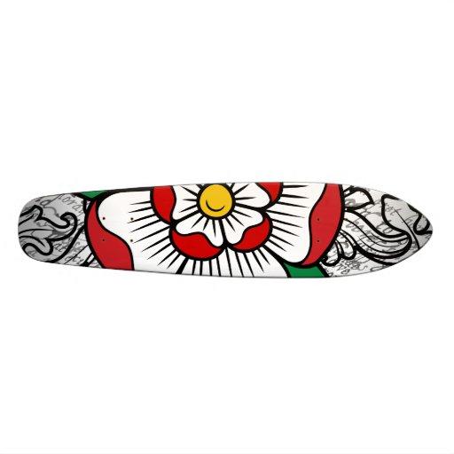 Plate-forme rose de planche à roulettes de Tudor Plateaux De Skateboards