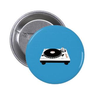 Plate-formes du DJ Badges Avec Agrafe