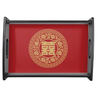 Plateau chinois de portion de cérémonie de thé de