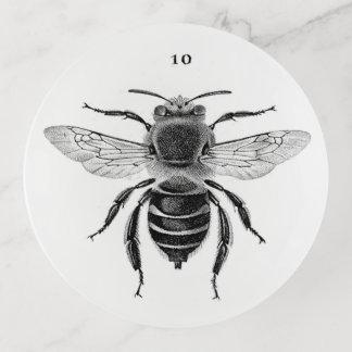 Plateau de bibelot de l'abeille 10