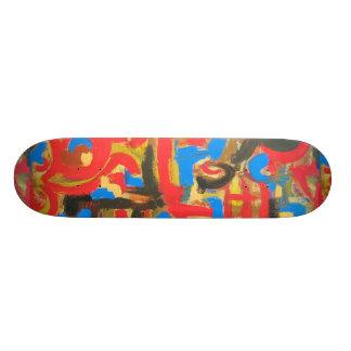Plateau De Planche À Roulettes Graffiti dans l'art abstrait peint parMain