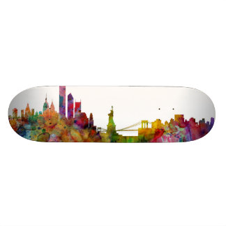 Plateau De Planche À Roulettes Horizon de New York