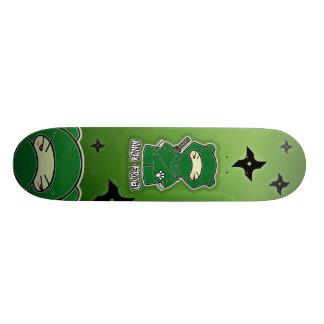 Plateau De Skate Grenouille de Ninja ! Planche à roulettes