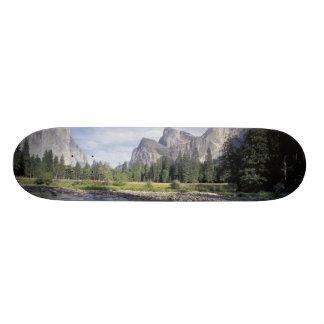 Plateau De Skate Na, Etats-Unis, la Californie, Yosemite NP, vue de