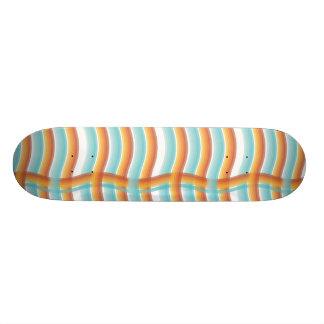 Plateau De Skate Plate-forme onduleuse de plaid