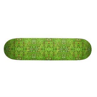 Plateau De Skateboard Motif de collage de nature de Digitals