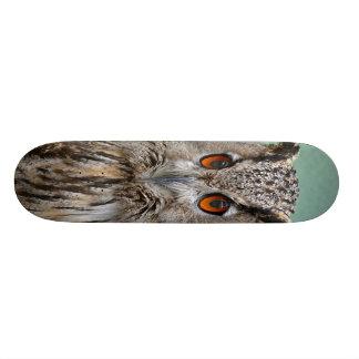 Plateau De Skateboard planche à roulettes de hibou