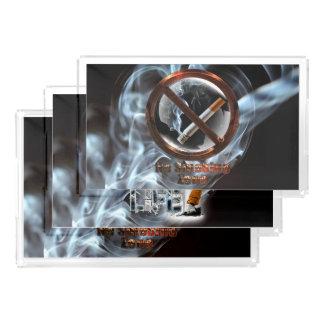 Plateau En Acrylique Cessez le tabagisme
