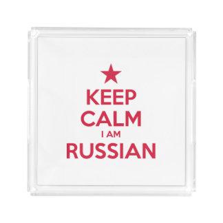 PLATEAU EN ACRYLIQUE LA RUSSIE