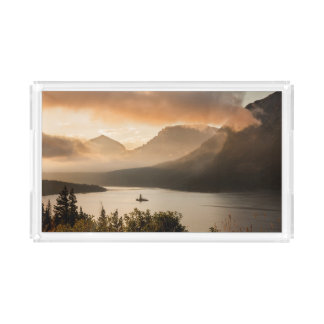 Plateau En Acrylique Parc national de glacier du lac | st. Mary,