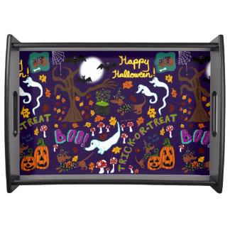 Plateau Halloween du teckel de diva