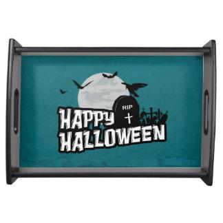 Plateau Halloween heureux