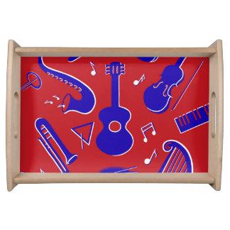 Plateau Instruments de musique