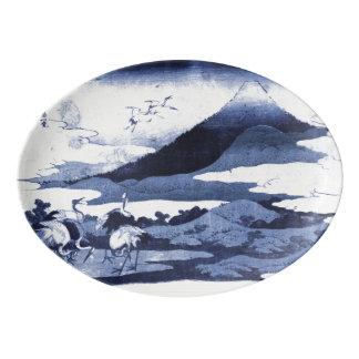 Plateau japonais de grue