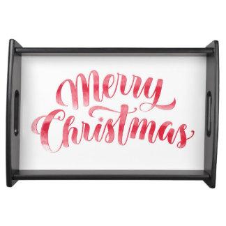 Plateau Joyeux Noël et bonne année de Noël |