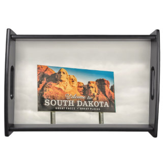 Plateau Le nouveau signe bienvenu du Dakota du Sud