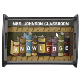 Plateau Livres de professeurs de la connaissance
