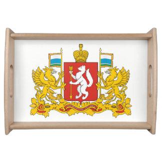Plateau Manteau des bras de l'oblast de Sverdlovsk