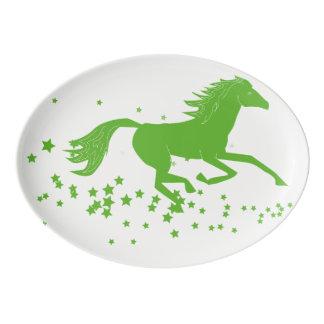 Plateau mystique de cheval