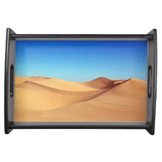 Plateau Paysage pittoresque de nature de désert de sable