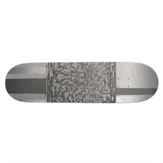 Plateaux De Planche À Roulettes argent 03 d'art en métal