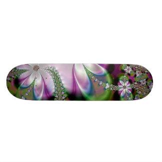Plateaux De Skate Jardin floral de planche à roulettes