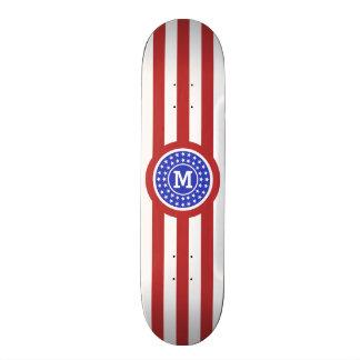 Plateaux De Skate Le drapeau des USA a inspiré les planches à